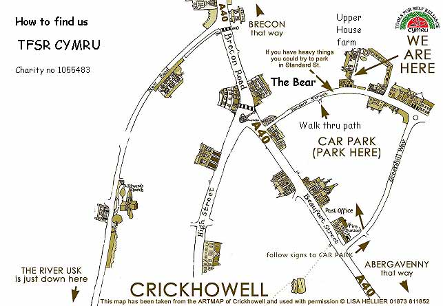 Click here to view a larger version of our map