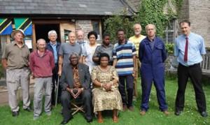 Dr Shija & family visit our workshop in Crickhowell